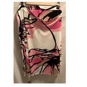 Size 1X Jonathan Martin Wrap Skirt